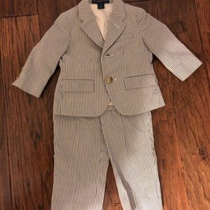 Baby Boy Polo Ralph Lauren Seersucker Suit